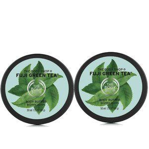 The Body Shop Fuji Green Tea Mini Body Butter Set